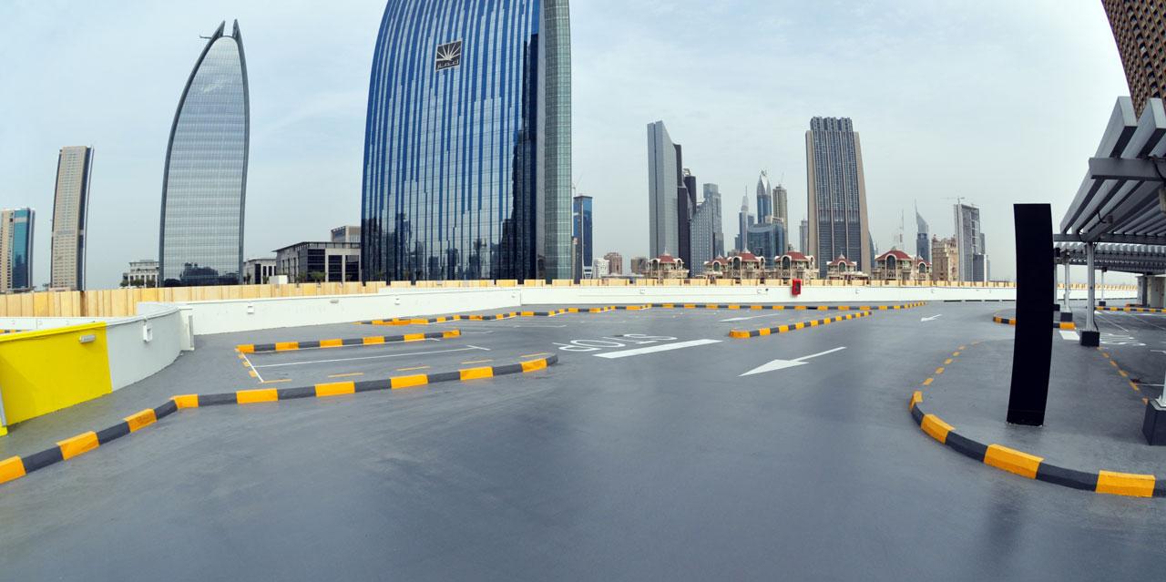 Полы для открытых площадок и паркингов