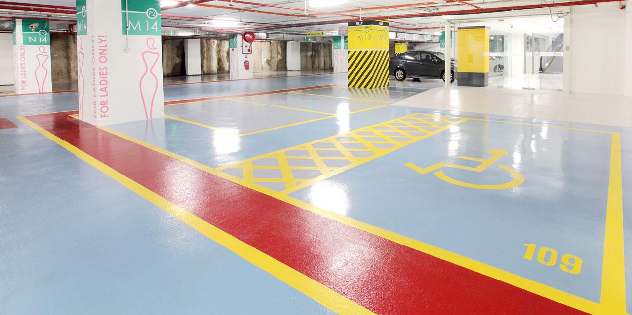 Покрытия для паркингов Deckshield ID