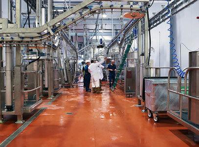 Полы для пищевой промышленности