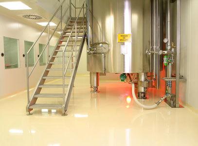 Полы для предприятий химической промышленности