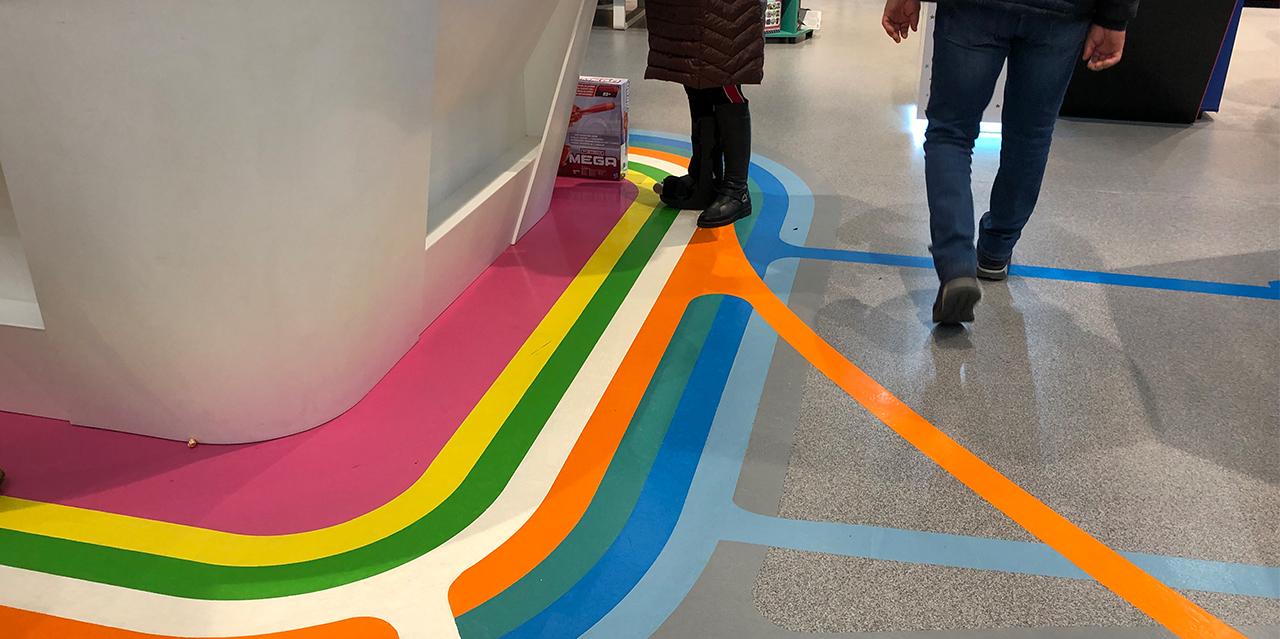 Peran STB и цветные полосы в прикассовой зоне