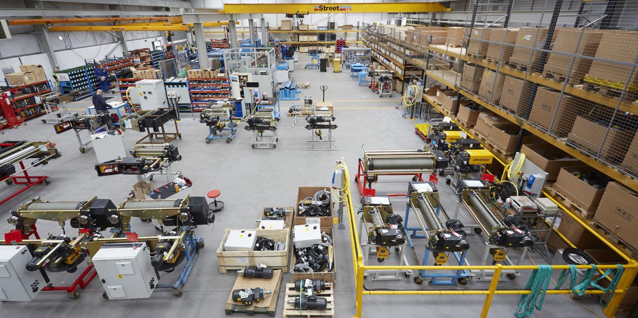 Полы производственных помещений