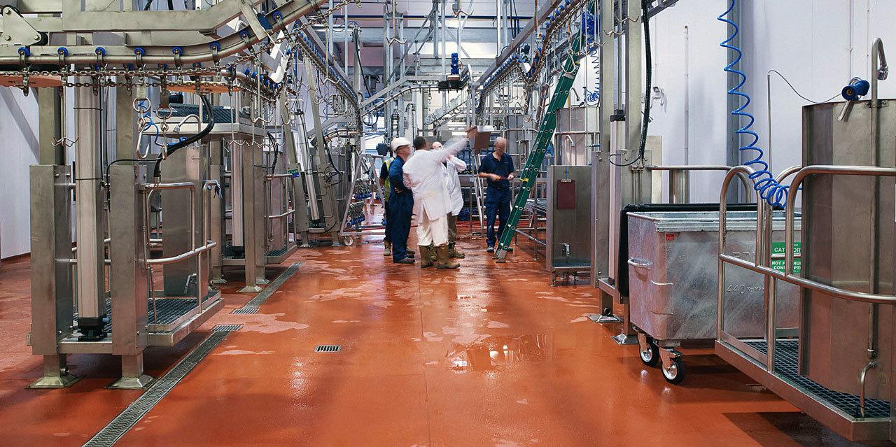 Полы в пищевой промышленности